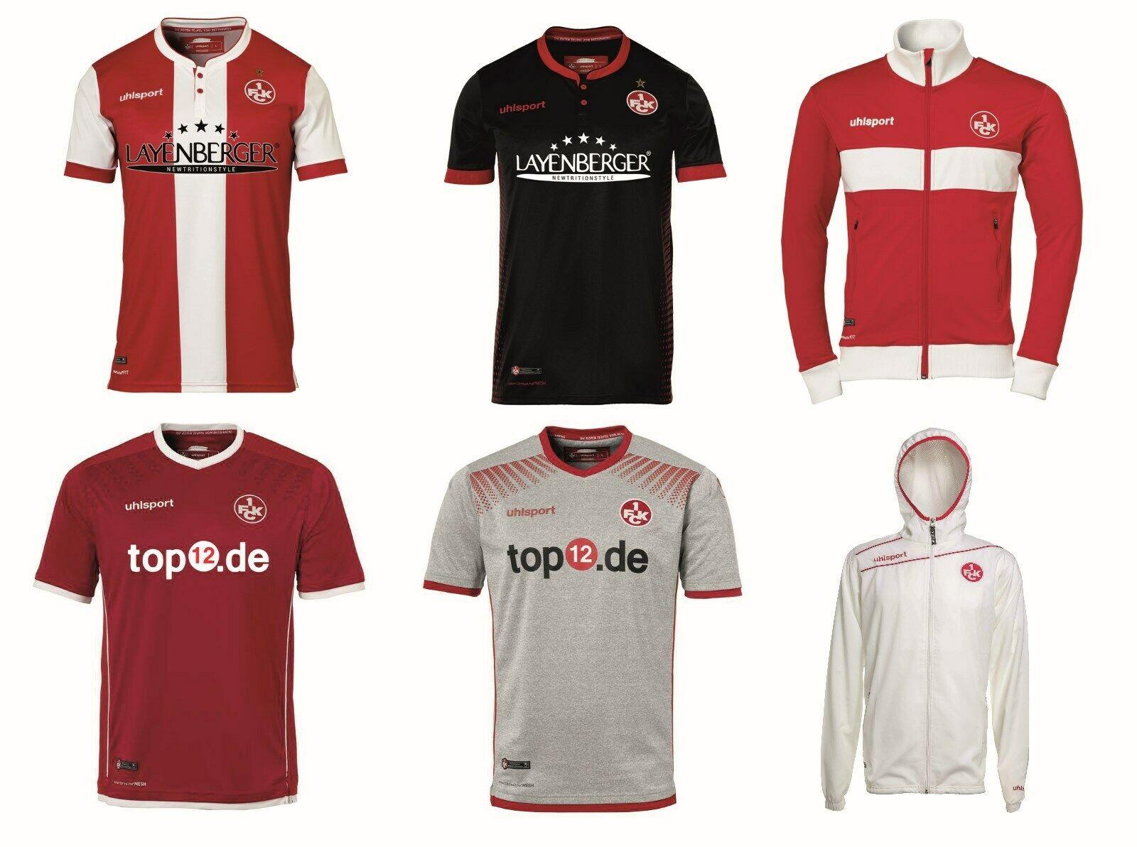 1.FC Kaiserslautern Uhlsport Restposten / Trikot / Hose / Jacke / T-Shirt / Hoody ab 3,95 Euro