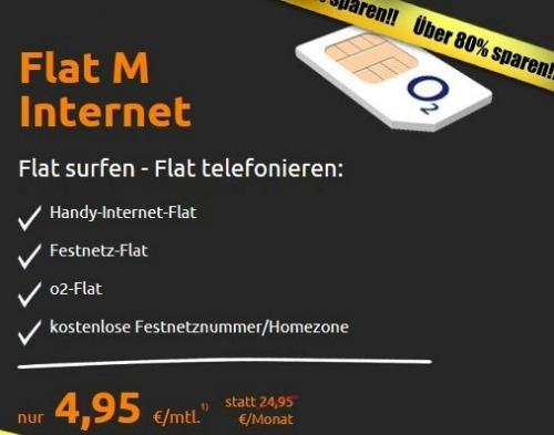 crash-tarife.de Festnetz-, o2- und Daten-Flatrate für 4,95 Euro