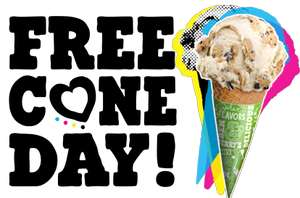 """Gratis Eis am """"Free Cone Day"""" in Ben & Jerry's Shops am 09.04.2019"""