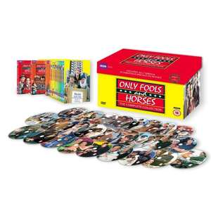 (UK) Only Fools and Horses - Complete Box Set: Anniversary Edition [26 DVDs] für €51.99 @ play