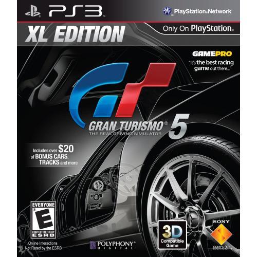 Gran Turismo 5 XL Edition @Play-Asia.com