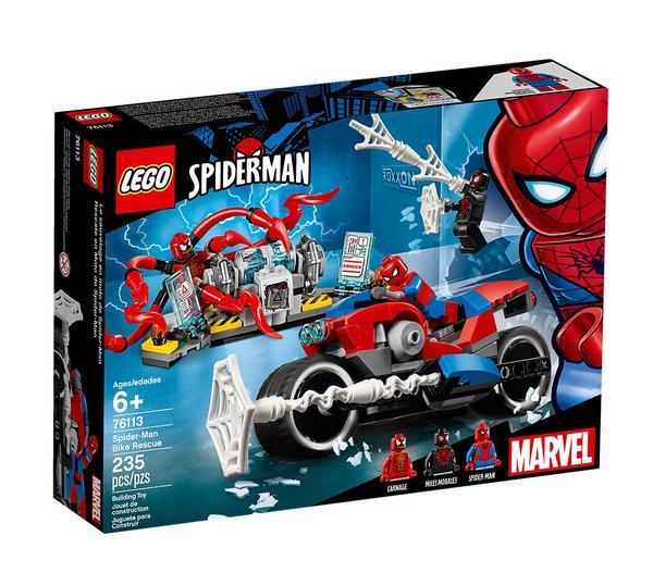 LEGO Spider-Man 76113 - Motorradrettung