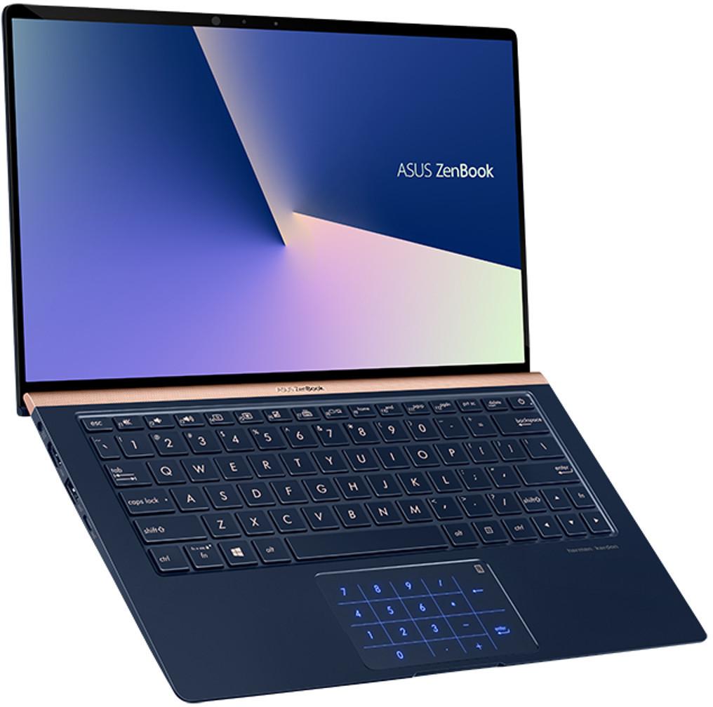 "Asus ZenBook 13 (13,3"" FHD IPS, i7-8565U, 16GB RAM, MX150, 256GB PCIe SSD, WLANac, Bluetooth 5.0, USB-C 3.1, 14h Laufzeit) [UX333FA-A4081T]"