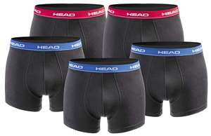 10er Pack Head Boxershorts in 5 Farben