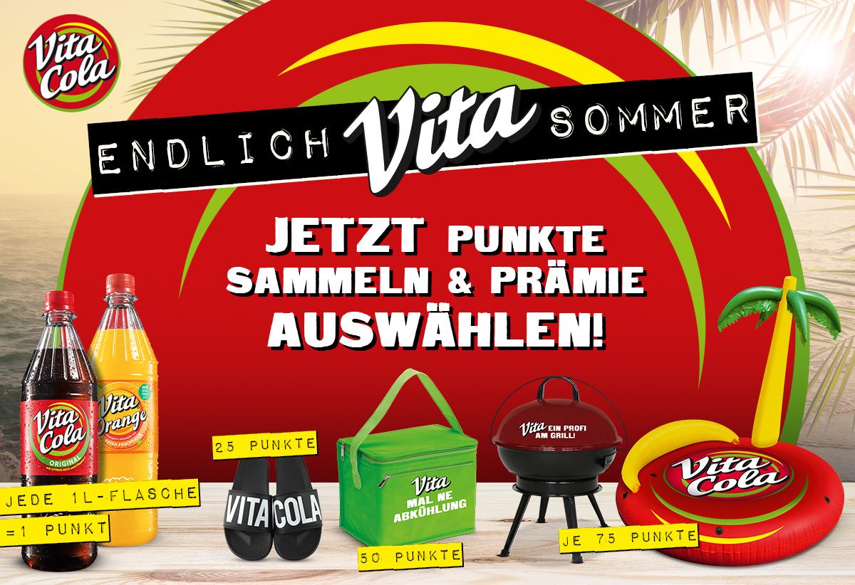 Vita Cola in großen Mengen kaufen, Prämie erhalten