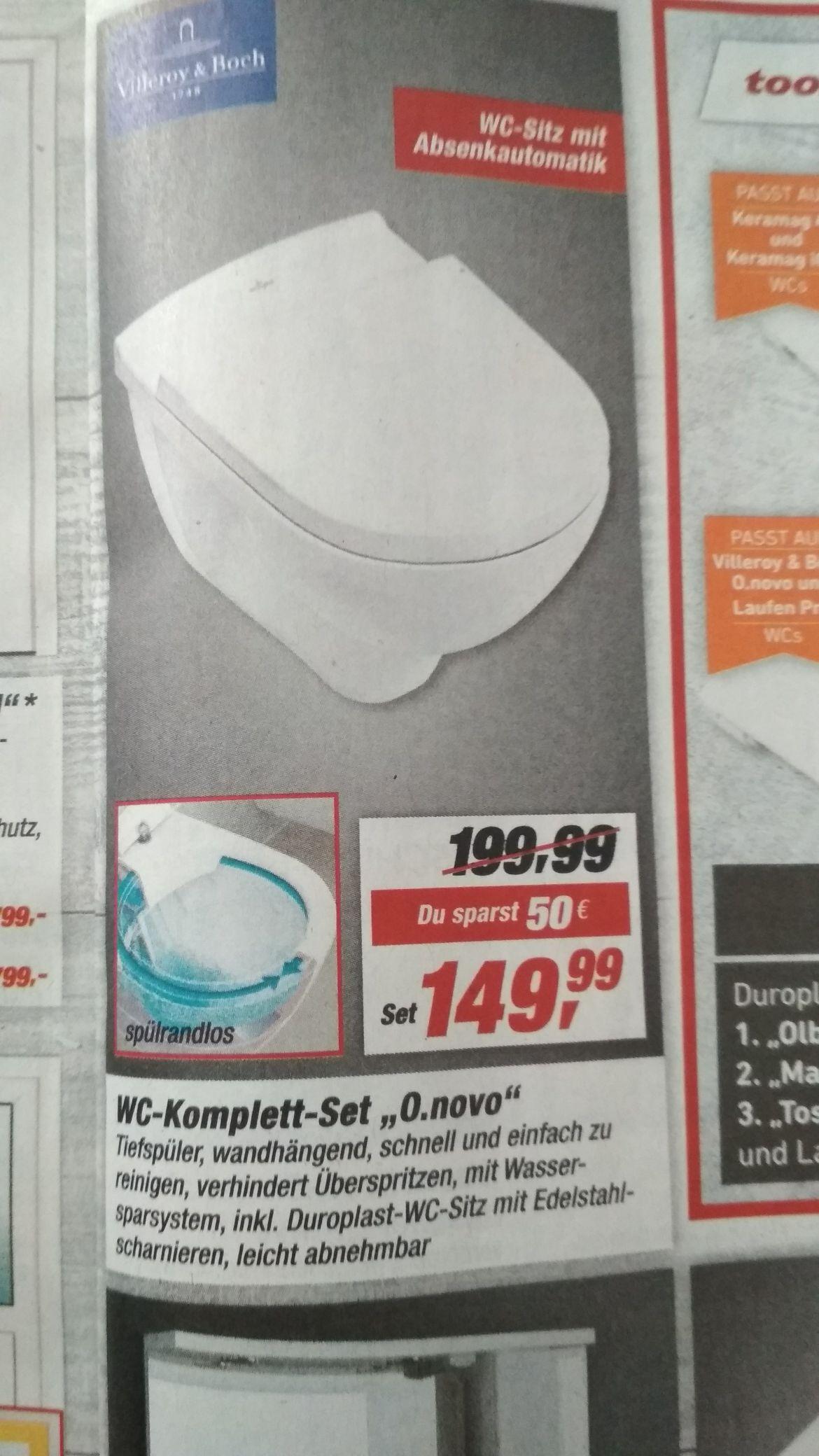 Toom Baumarkt - villeroy & boch WC-Set O. Novo