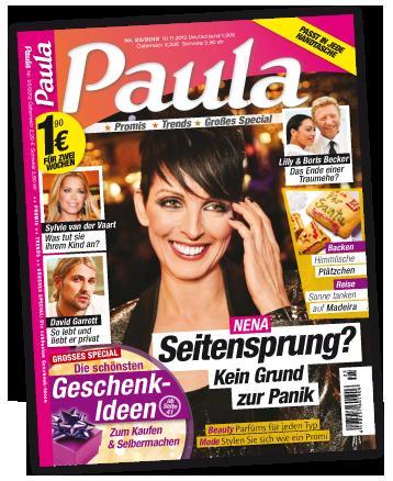 Gratis Ausgabe - Zeitschrift Paula  - endet Automatisch