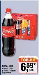 Coca Cola Kiste 12 x 1L im Metro