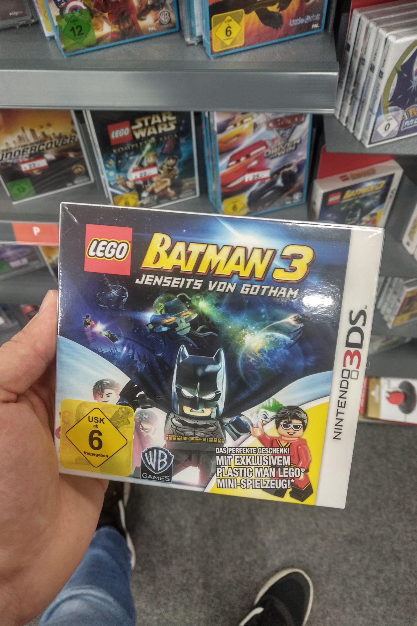 [Lokal Expert Brandenburg] Lego Batman 3 Jenseits von Gotham Nintendo 3DS