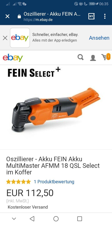 Fein MultiMaster AFMM 18 QSL Select (ohne Akku)