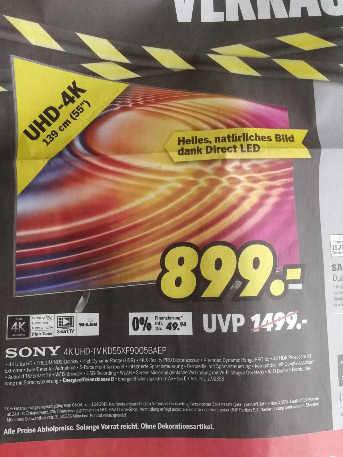 Sony KD-55XF9005  lokal?