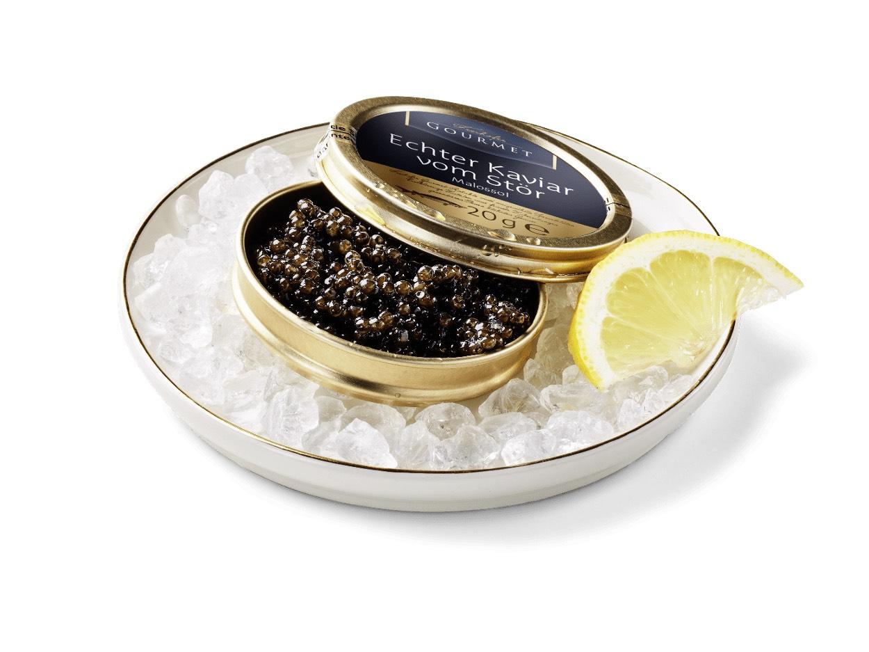Kaviar vom Stör der Marke Freihofer Gourmet 20g 17,99€ bei [Aldi Nord ab 15.04]