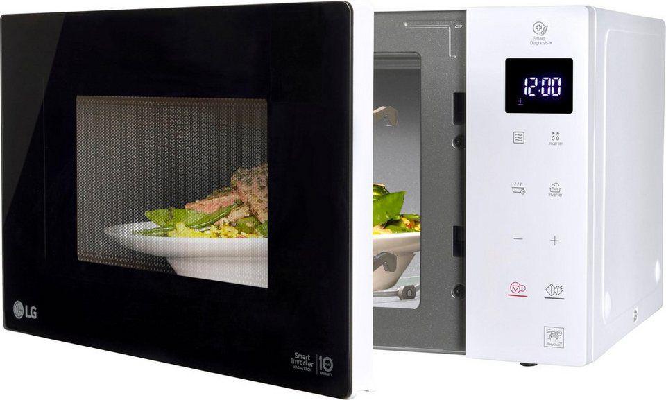 LG Microwelle MS 23 1000W 23Liter Garraum Smart Inverter