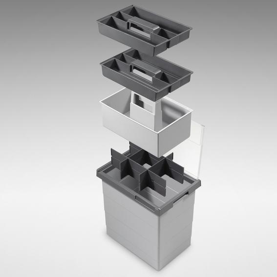 Hailo Flexikit - praktisches Aufbewahrungssystem für Kleinkram, Werkzeug etc.