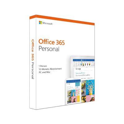 Microsoft Office 365 Personal 1 Jahr zur Notebooksbilliger Store Eröffnung lokal in Dortmund für 19,09€