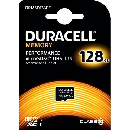 """256GB (2 x 128 GB) Micro SD Karten """"Duracell Performance (SDXC) UHS-I U1"""" für 33,06€ @ Mymemory"""