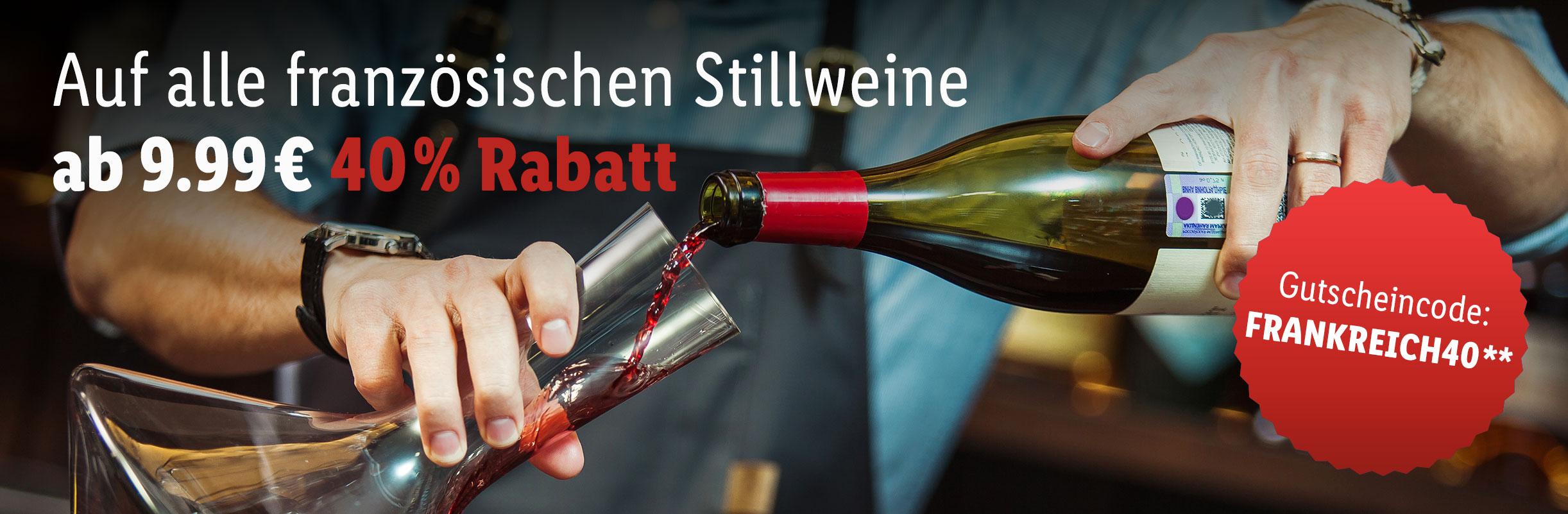 Französische Spitzenweine (Deuxieme Grand Cru Classé) mit 40% dank Gutschein bei LIDL