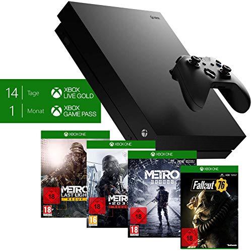 Microsoft Xbox One X Metro Exodus Bundle + Fallout 76: S.P.E.C.I.A.L. Edition (exkl. bei Amazon) für 389€ - und 2 weitere Bundles verfügbar