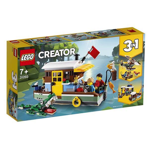 LEGO Creator 31093 Hausboot / Ninjago 70668 Jay's Donnerjet