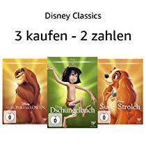 Disney Classics: 3 kaufen, 2 zahlen vom 08 Apr. 2019 bis zum 15 Apr. 2019 (Amazon)