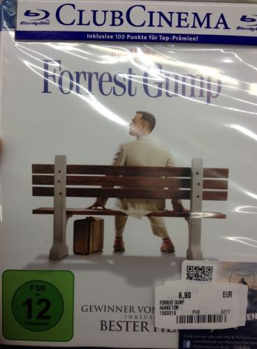 Forrest Gump Blu-ray Media Markt Schweinfurt