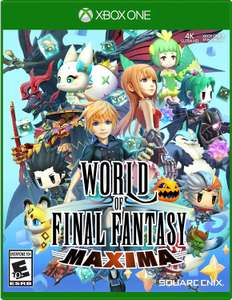 World Of Final Fantasy Maxima (Xbox One) für 22,61€ (Amazon US)