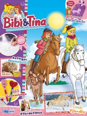 Bibi & Tina Zeitschrift Abo  - 1 Jahr (9 Ausgaben) für 37,80 € mit 35 € BestChoice-Universalgutschein