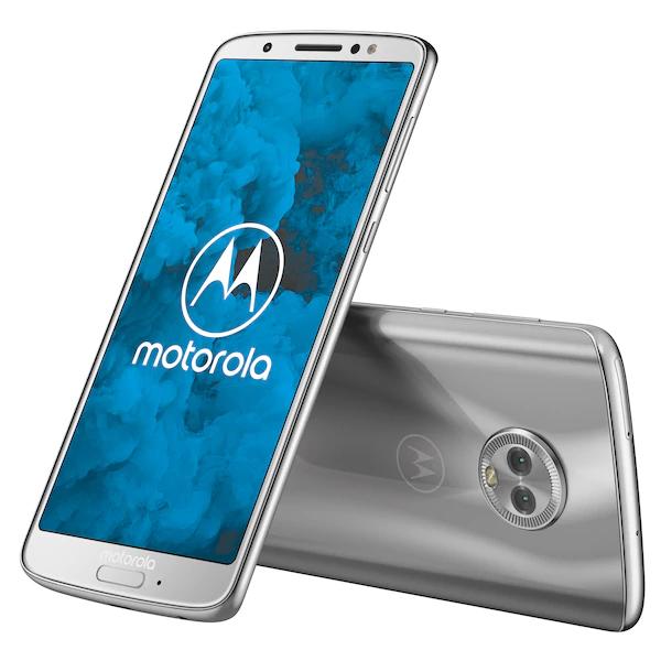 "Motorola Moto G6 (5.7"", 2160x1080, IPS, Snapdragon 450, 3GB RAM, 32GB + microSD, 3000mAh, NFC, Klinke, Dual-SIM, Android 9 angekündigt)"