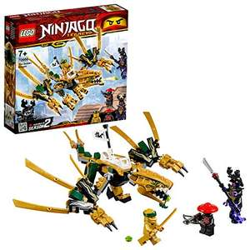 [Amazon Prime] LEGO Ninjago - Goldener Drache (70666) und LEGO Star Wars - Escape Pod vs. Dewback Microfighters (75228) je 13,99€