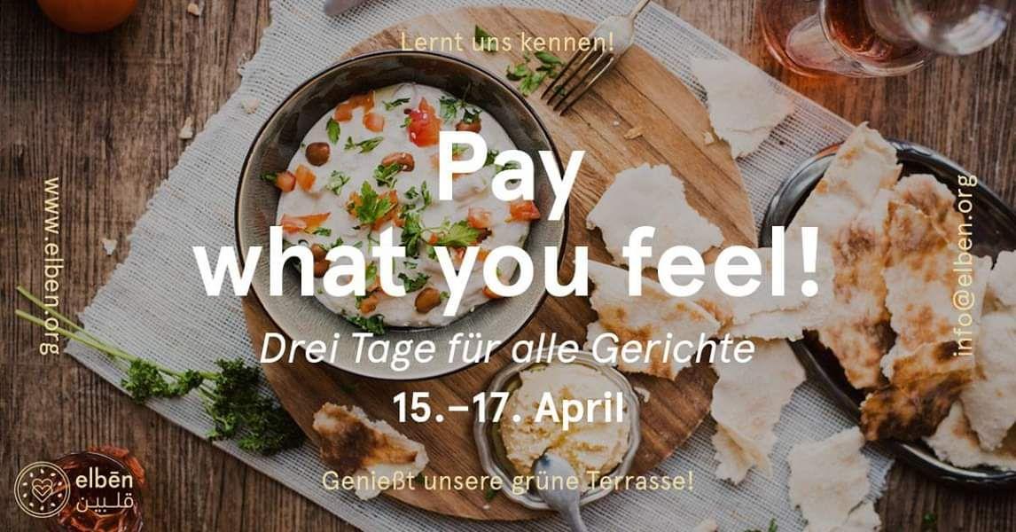 [Lokal Münster] elbén Restaurant - pay what you like