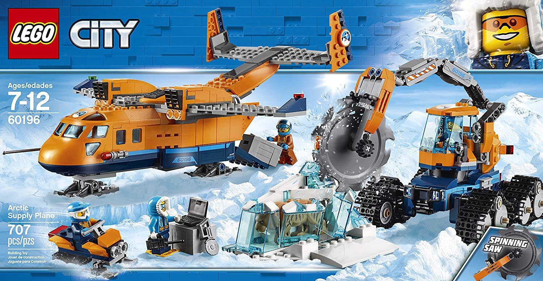 LEGO City 60196 - Arktis Versorgungsflugzeug