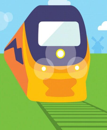 Tagesbahnfahrkarte für die Niederlande gültig bis 10.06.19 ab 14,50€