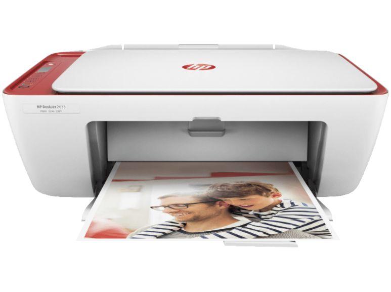 HP OfficeJet 5232 für 59€ und HP DeskJet 2633 für 39€ - Tintenstrahl 4-in-1 Multifunktionsdrucker mit WLAN