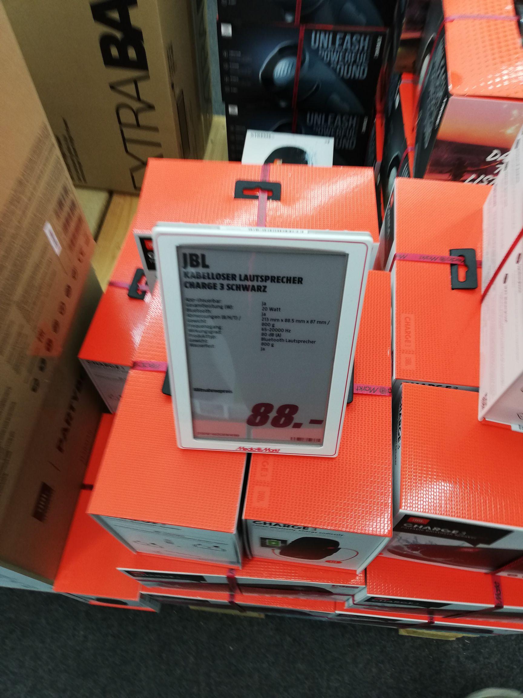 Jbl charge 3 (Lokal Mediamarkt Schwedt)