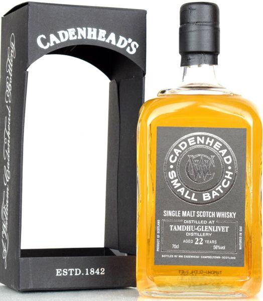 Tamdhu 22 Jahre 1991/2014 Cadenhead Single Malt Whisky und weitere Cadenhead-Abfüllungen