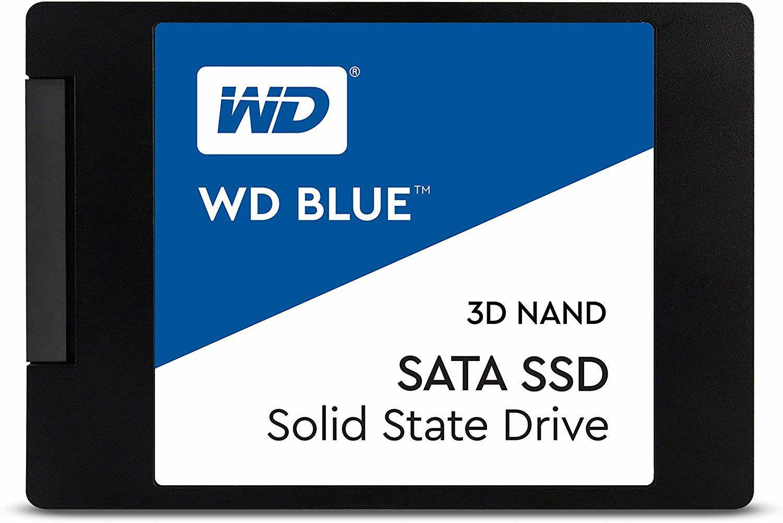 """Western Digital Blue interne SSD 2.5"""" - 250GB, 3D TLC, DRAM Cache (7dayshop)"""