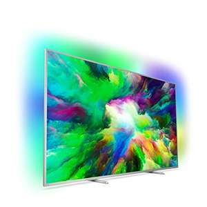 Philips 75PUS7803/12 189 cm (75 Zoll) LED (Ambilight, 4K Ultra HD, Triple Tuner, Smart Fernseher) [Energieklasse A+]