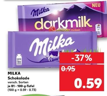 Kaufland - ab 11.04 - Milka Schokolade 0,59 / Granini trinkgenuss 0,99