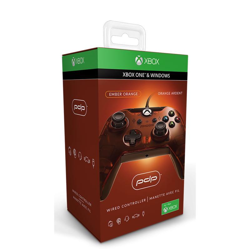 PDP Wired Controller - Orange (Xbox One/PC) für 18,56€ (Amazon Prime)