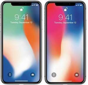apple iphone x 256gb spacegrau ohne simlock neu unge ffnet und originalverpackt. Black Bedroom Furniture Sets. Home Design Ideas