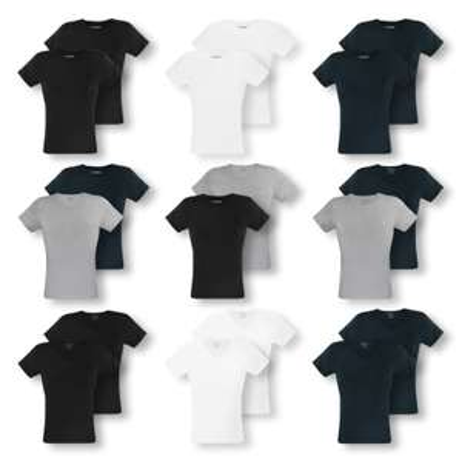 "2er Pack Emporio Armani ""Pure Cotton"" T-Shirts in div. Farben"