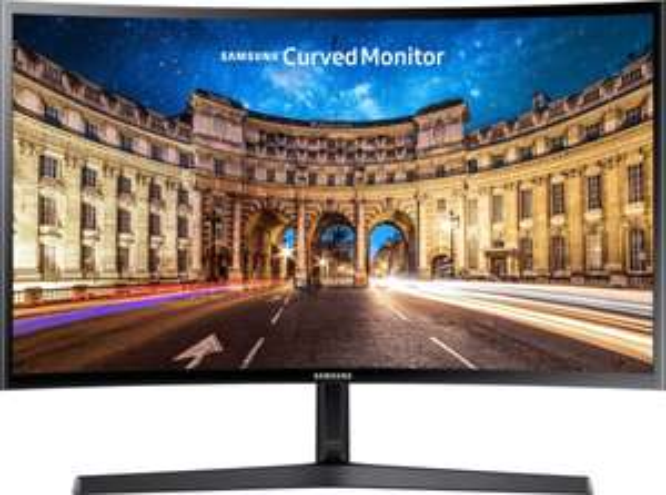 Samsung C27F396FHU (Curved Monitor, 27 Zoll, 1.920 x 1.080 Pixel, VA, 60 Hz, 4 ms, 16:9, Helligkeit 250 cd/m², AMD Freesync, HDMI)
