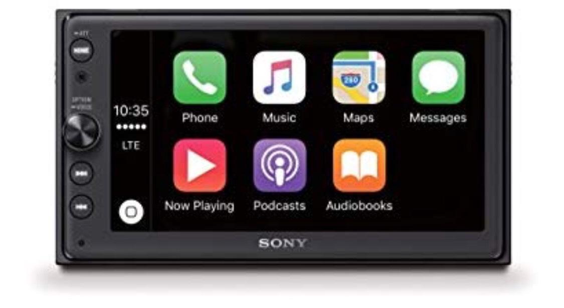 Sony XAV-AX100 Media Receiver Autoradio Apple CarPlay und Android Auto [Amazon DE]