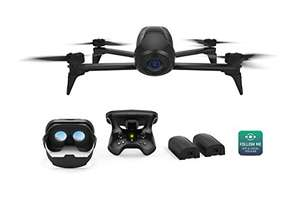 Parrot Bebop 2 Power FPV Pack, 2 Zusatzakkus, FPV-Brille, Trackingmodes, Schwarz [@Amazon Warehouse Deal -20 %]