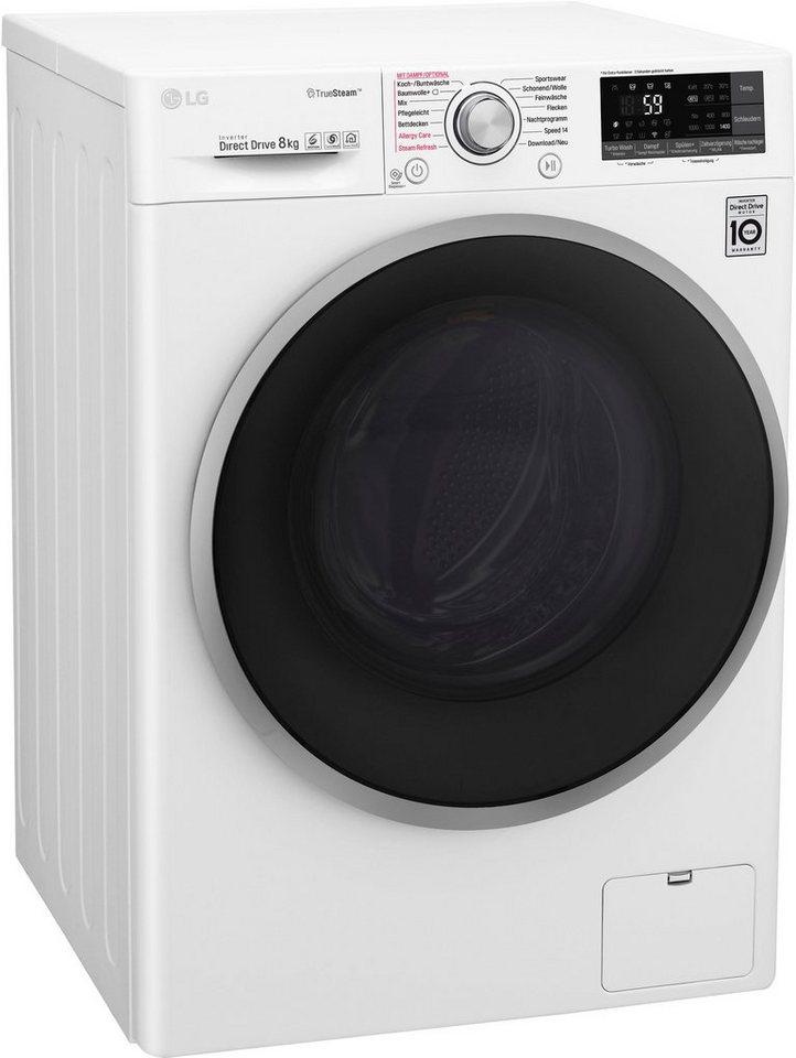 Waschmaschine 8KG (A+++)-40% LG F14WM8TT1 OTTO Neukundenpreis