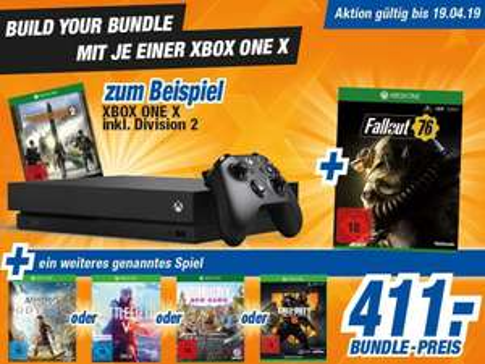 Xbox One X Bundle (anscheinend Bundesweit?)