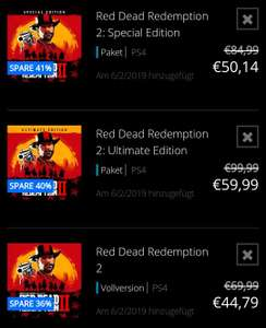 PSN | PS4 | Red Dead Redemption 2