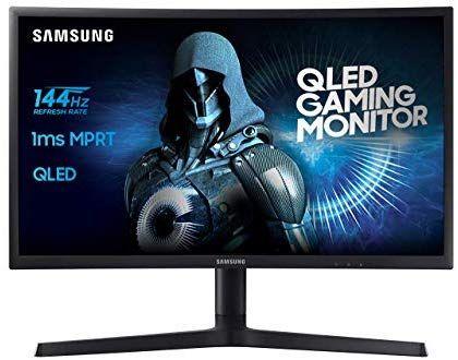 [Amazon Blitzangebot] Samsung C24FG73 59,8 cm (24 Zoll) Monitor (HDMI, 1ms Reaktionszeit) 144hz freesync