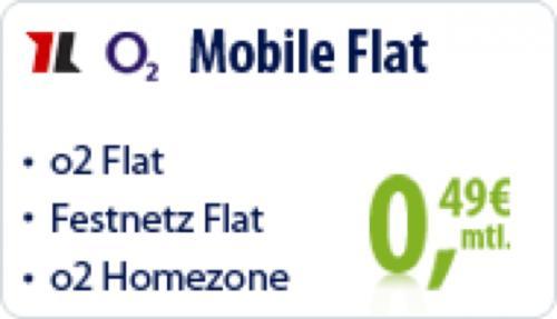 mobilcom-debitel o2 Mobile Flat nur 0,49 Euro mtl. bei vertragsoase.de
