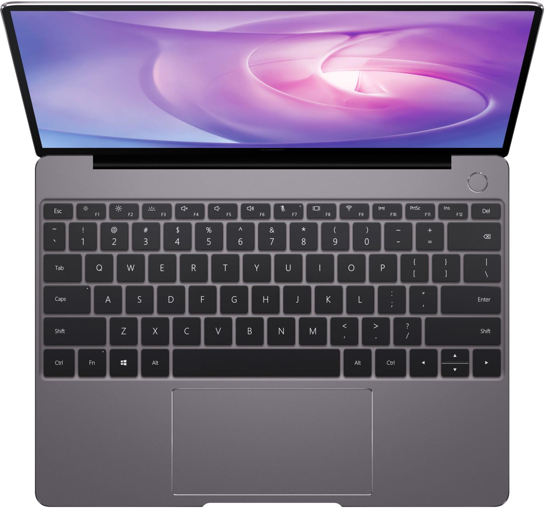 """Huawei MateBook 13 53010FXV (13"""", 2160x1440, IPS, 300 cd/m², i5-8265U, 8GB RAM, 256GB M.2 PCIe-SSD, USB-C mit DP, Win10, ~10h Akku, 1.28kg)"""